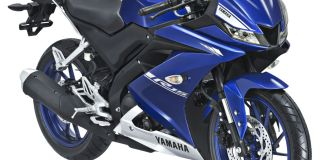Yamaha All New R15 Racing Blue
