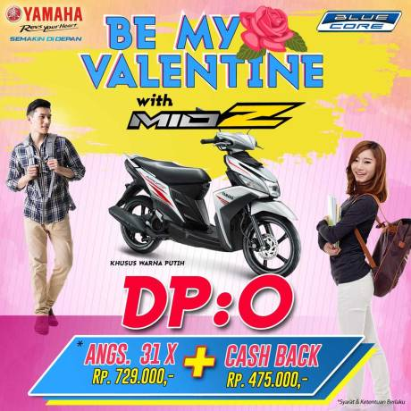 BE MY VALENTINE WITH MIO Z