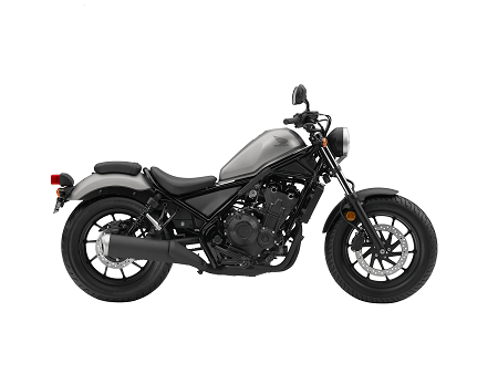 Honda CMX500 Rebel Warna Silver Matte Armored Silver hero color
