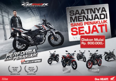 Promosi Honda All New CB150R Streetfire