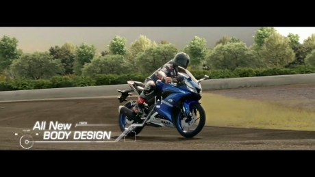 TVC Yamaha All New R15 All New Body Design