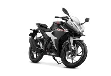 All New Honda CBR150R Warna Hitam Putih Slick Black White