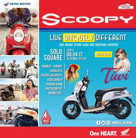 Launching All New Honda Scoopy eSP