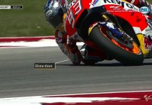 Marc Marquez Elbow Down