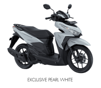 New Honda Vario 150 Warna putih Exclusive pearl white Versi 2017