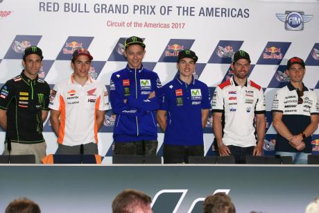 Press Conference MotoGP COTA 2017