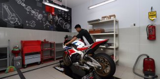 Dynotest Moge Honda CBR1000RR SP di Dealer Big Wing Banjarmasin