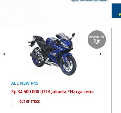 Yamaha All New R15 Ludes