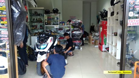 workshop maxi bengkel spesialis modifikasi yamaha nmax