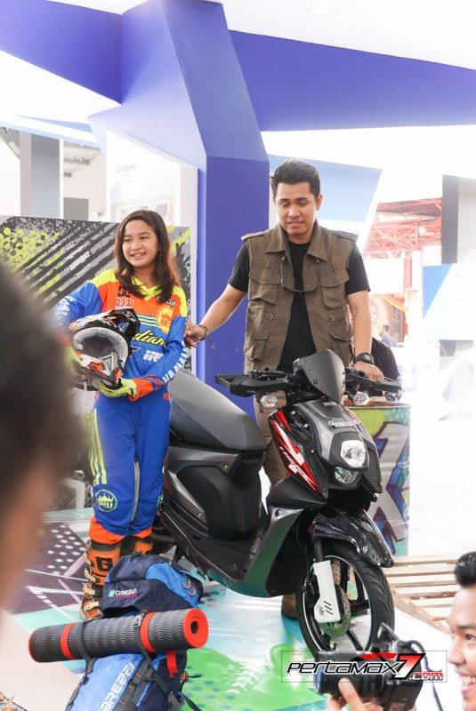 Launching Yamaha All New X-Ride 125 Jakarta Fair 2017 1