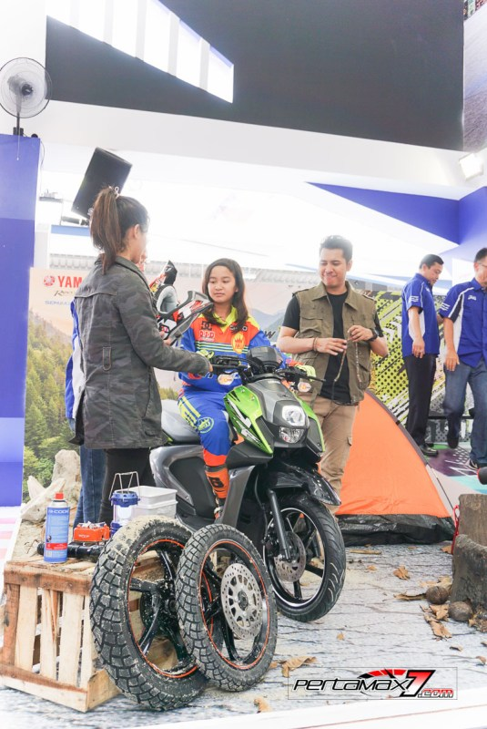 Launching Yamaha All New X-Ride 125 Jakarta Fair 2017 5