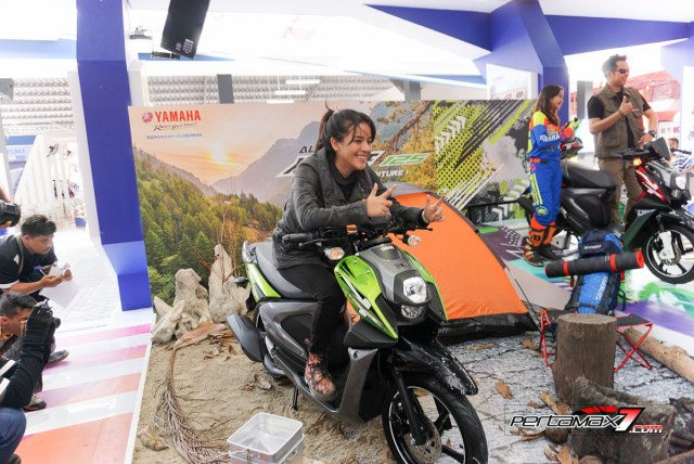 Launching Yamaha All New X-Ride 125 Jakarta Fair 2017