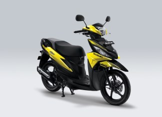 Suzuki Address Playful Warna Auta Yellow