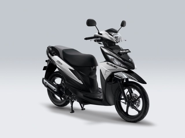 Suzuki Address Playful Warna Brilliant White