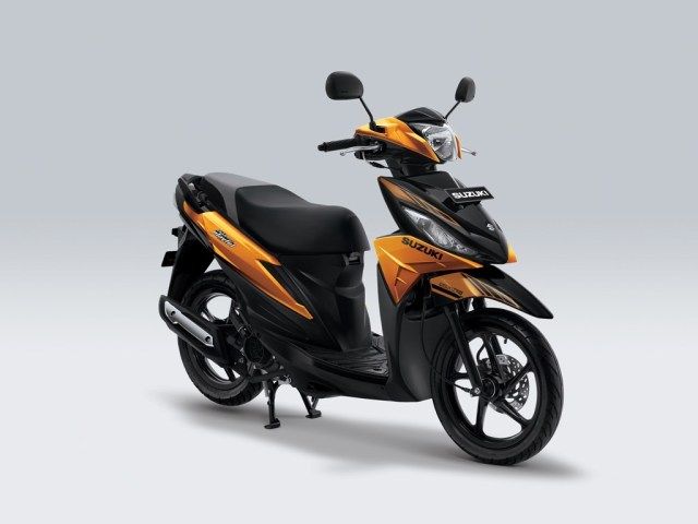 Suzuki Address Playful Warna Majestic Gold