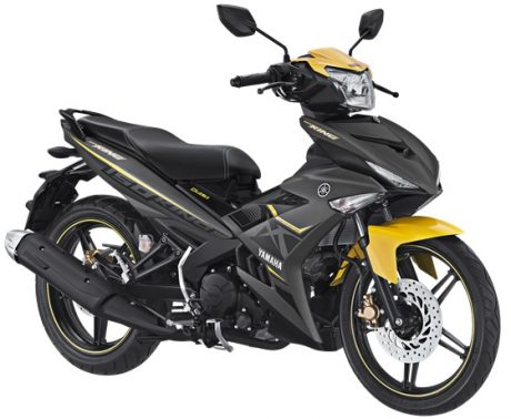 Yamaha Jupiter MX KING 150 Facelift 2017 Warna Abu Abu Doff Matte Grey