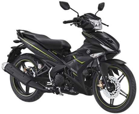 Yamaha Jupiter MX KING 150 Facelift 2017 Warna Hitam Doff Matte Black