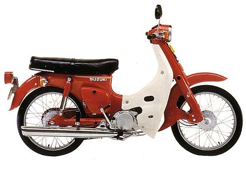 1978 Suzukki FR50 red Aus