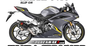 Akrapovic Slip On Honda CBR250RR