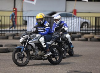Fun Riding Competition All New Vixion 150