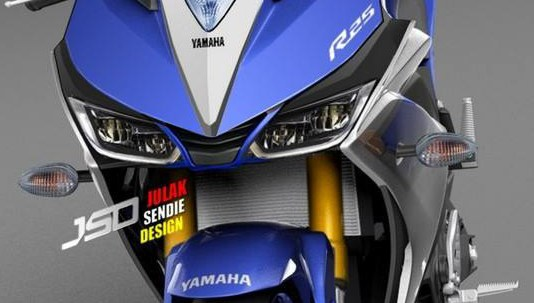 Headlamp Led Bakal Calon Yamaha R25 Facelift 2018