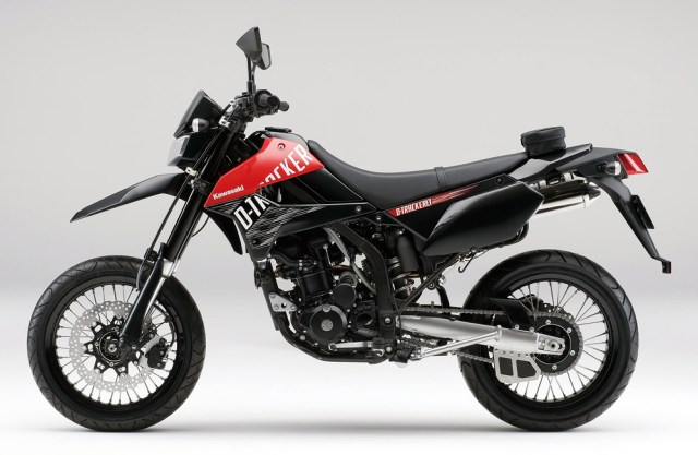 Kawasaki D-Tracker X 2013 Japan Black