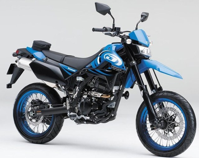 Kawasaki D-Tracker X Final Edition 2016 Japan Blue