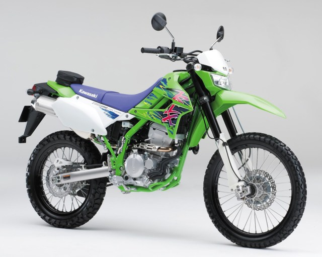 Kawasaki KLX 250 Final Edition 2016 Japan
