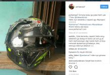 Lupa Klik Helm Dilindas Truk