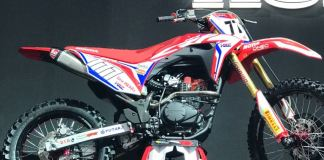 Motor Trail Honda CRF150 Indonesia