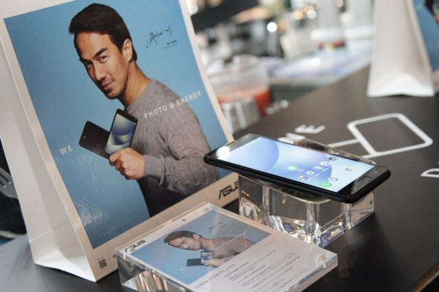 Product Display of ZenFone 4 Max Pro
