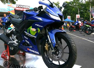 Yamaha All new R15 Biru VVA