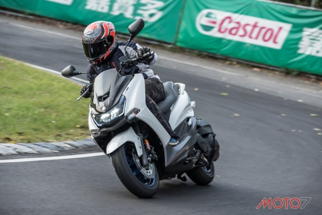 Test Yamaha SMAX 155 ABS LED Taiwan 20 P7
