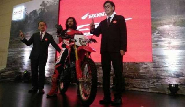 Launching Honda CRF150L Indonesia Viva