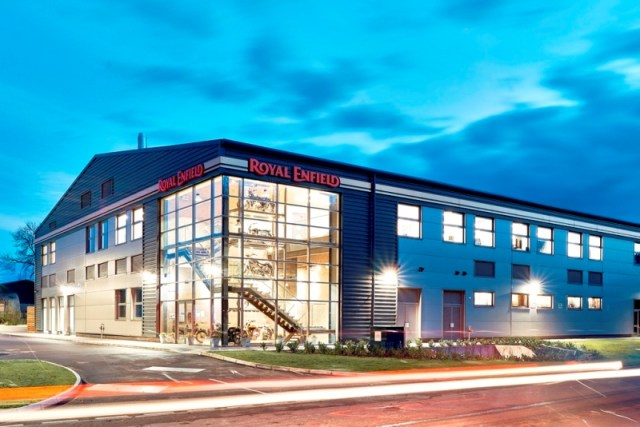 Royal Enfield UK Technical Centre_ Leicester1