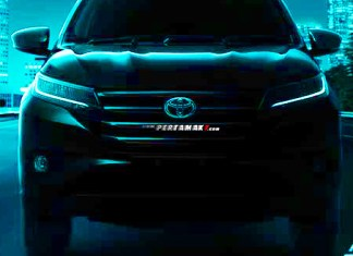 Tampak Depan All New Toyota Rush 2018 Baby Fortuner