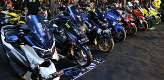 Hasil Modifikasi Yamaha CustoMAXI 2017 Sumatera Utara