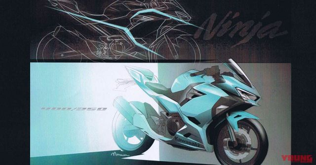 Sketsa Kawasaki All New Ninja 250 FI