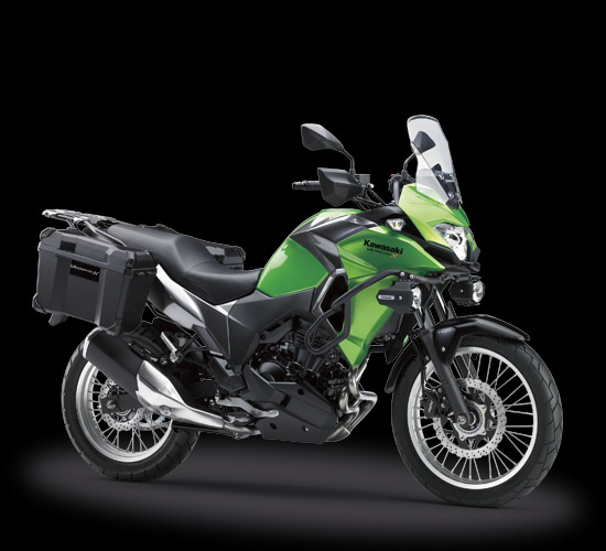 Kawasaki versys-X 250 Tourer Version warna hijau
