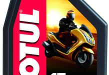 Motul Scooter Power LE 5W40 4T SYNTHETIC Depan