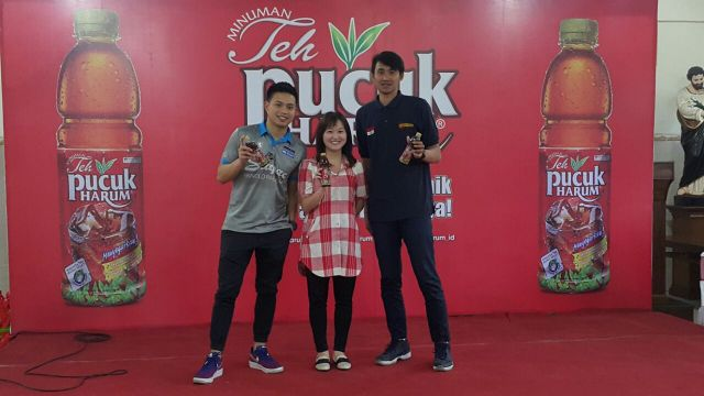 Teh Pucuk Harum di Indonesian Basketball League