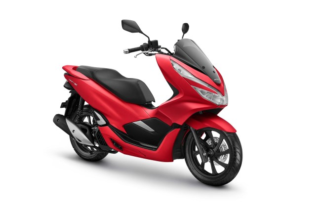 All New Honda PCX 150 Warna Majestic Matte Red