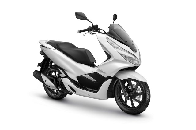 All New Honda PCX 150 Warna Wonderful White