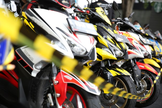 Grand Final Yamaha CustoMAXI di Atrium Pejaten Village