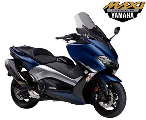 Yamaha TMAX DX 530 Indonesia Warna Biru