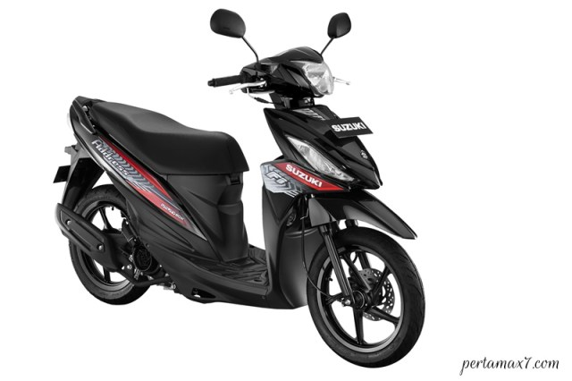 Make Up Suzuki Address FI Warna Baru TITAN BLACK p7