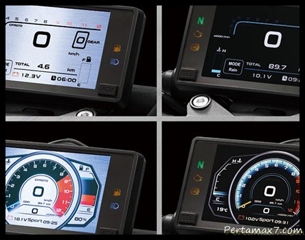 Speedometer TFT Full Colour CFMoto 250NK 006 P7