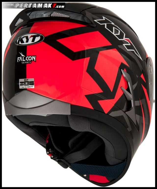 KYT FALCON EU Faster Red 008 P7