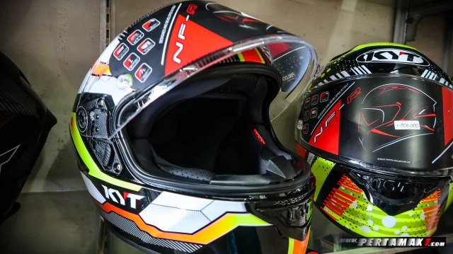 Open Visor KYT NF-R Double D-Ring DD Ring P7_-15