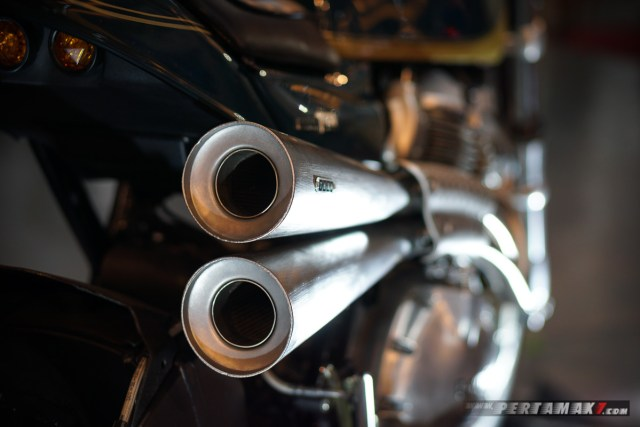 Stainless Stell Muffler Royal Enfield T-XX Interceptor T-650